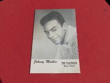 The Playgoer Geary Theatre San Francisco Program Johnny Mathis Sept 1960 Musical