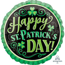 "St Patricks Day Clover Me Lucky 18"" Foil Balloon"