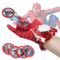 Action Figure Spiderman Launcher Toy Kids Batman Glove Spider Man Cosplay Toys