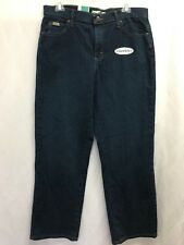 "Womens ""lee"" Jeans Relaxed Fit Straight Leg Size 10p W7"