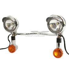 Passing Turn Signals LED Light Bar Fit Honda Shadow VT VT1100 VT750 VT600 VF750
