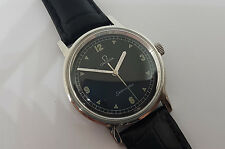 VINTAGE OMEGA SEAMASTER BLACK DIAL CAL:601 MANUAL MAN'S WATCH