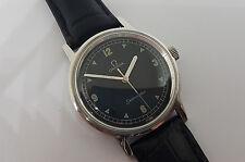 De COLECCIÓN OMEGA SEAMASTER Cuadrante negro Reloj de hombre Manual CAL:601