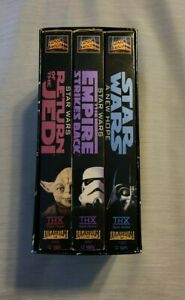 Star Wars Trilogy 3-Tape Set (VHS,1995)