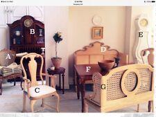 "DOLLHOUSE MINIATURE ""Augustina"" Gustavian mora Clock by Maritza for Bespaq WHITE"