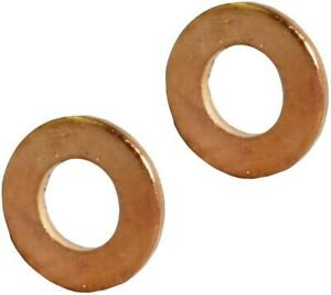 Washer Plug Rings x2 FOR Peugeot 307, 807, Expert, Partner Citroen C2,C3, C4, C5