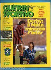 GUERIN SPORTIVO n.11- del 13/19  marzo 1985 - FRANCO BARESI E ALTOBELLI