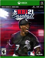 R.B.I. Baseball 21 Xbox  Usa Brand New