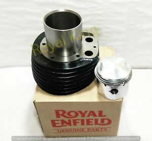 """Royal Enfield Kugel 500cc """" Zylinder Und Kolben Mit Ringe """" #597107"""