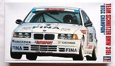 HASEGAWA 1/24 team schnitzer BMW 318i BTCC champion limited scale model kit