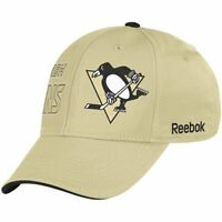 Pittsburgh Penguins Cap NHL Hockey Reebok Eishockey Flex Cap Kappe Size S/M