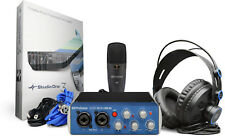 PreSonus Audiobox USB96 Studio USB Audio Interface with Mic & Headphones USB 96
