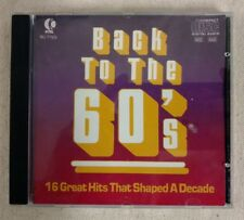 Various - Back to the 60's 1986 K-TEL