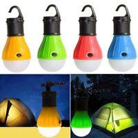 Camping Hanging 3 LED Bulb Light Tent Fishing Lantern Outdoor Emergency Lamp Hot