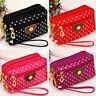 Women Ladies Cloth Zipper Wallet Clutch Card Holder Coin Purse Small Handbag