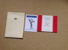 Jack Barclay Ltd Diamond Jubilee Anniversary Commemorative Catalogue