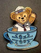 Hong Kong Disney Land Pin Magic Access Exclusive 2017 Tea Cup Duffy Hkdl