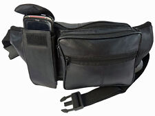 Extra Large Leather Bumbags Bum Bag Up To 50 inch WAIST Size