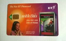 BT PHONECARD  £2 JUNE 1998 FATHER IN TELEPHONE BOX PHONING DAUGHTER