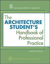 The Architecture Student's Handbook of Professional Practice by American...