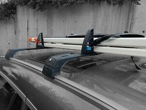 Roof Rack and Load Stops Ladder Tilt For Buick Enclave Avenir Black