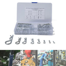 125PCS/Box R-type Wave Card Hairpin Latch Bolt Cotter Pin Carbon Strength Steel