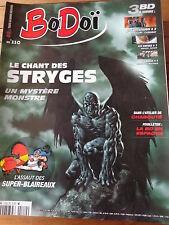 Revue BODOÏ N° 110 - 2007 LE CHANT DES STRYGES SUPER-BLAIREAUX