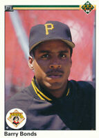 Barry Bonds 1990 Upper Deck Pittsburgh Pirates Baseball Card #227
