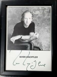 Mark Knopfler Signed