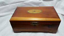 Wooden Cedar Box Jewelry box Cigar Box
