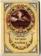 Ricordo di Napoli: Leporello avec un grand panorama de 1900