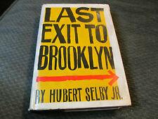 hb book hubert selby jr. last exit to brooklyn grove '64 3rd print pynchon! hc!!