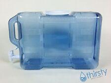 3 Gallon Bottle Refrigerator Drinking Water w/ Faucet Spigot Dispenser Aqua H2O