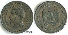 3299 - MEDAILLE MONNAIE SATIRIQUE NAPOLEON III