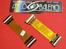 MODULO FLAT FLEX FLET per SAMSUNG SGH E800 DISPLAY BIANCO TASTI KO Nuovo