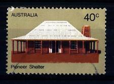 AUSTRALIA - 1972 - La vita dei primi coloni dell'Australia . Casa di legno