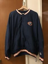 NFL Chicago Bears Navy Starter Pro Line Pullover Jacket Size Extra Large XL