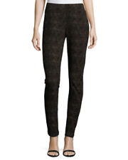 NWT NYDJ Not Your Daughters Jeans Ganch DK BROWN SNAKE Skinny SLIMMING Size 14P