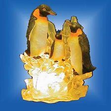 Dekoleuchte Polyresin Pinguin .#3262