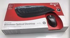 Microsoft Wireless Optical Desktop: Keyboard & Mouse Black