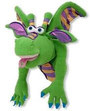 Melissa & Doug Smoulder the Dragon Puppet With Detachable Wooden Rod #3908