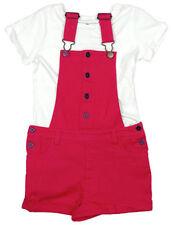 Tenues et ensembles rose pour fille de 2 à 16 ans en 100% coton