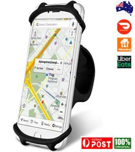 Bike Phone Mount, Universal Bicycle Phone Holder Non-Slip Silicone Strap