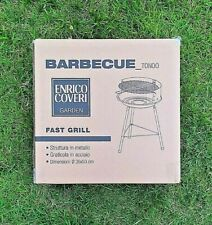 Barbecue Carbonella Braciere Campeggio Giardino Tondo Diametro 36 x 53 Cm - TOP-