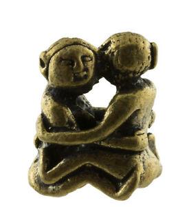 Coppia Amanti Talismano Amuleto Erotico Thai-Amore-Charm 787 G59