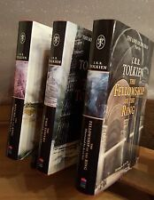 LORD OF THE RINGS TRILOGY ILLUSTRATED HARD BACKS BY ALAN LEE - JRR TOLKIEN