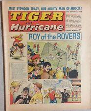TIGER  and HURRICANE weekly British comic book November 30, 1968