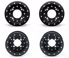 """Hiper CF1 Carbon Fiber Black Beadlock Rims 10"""" Front 9"""" Rear 10x5 9x8 450R 250R"""