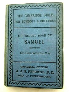 The Second Book of Samuel Cambridge Bible Commentaries 1889 Hardcover