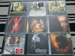SOUNDTRACKS: THE LORD OF THE RINGS, PEARL HARBOR, INDIANA JONES, HANNIBAL,...